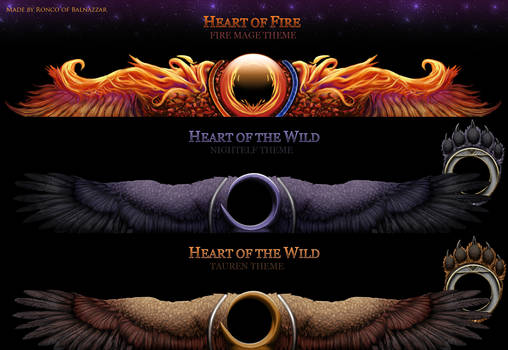 Heart of the Wild and Fire UI