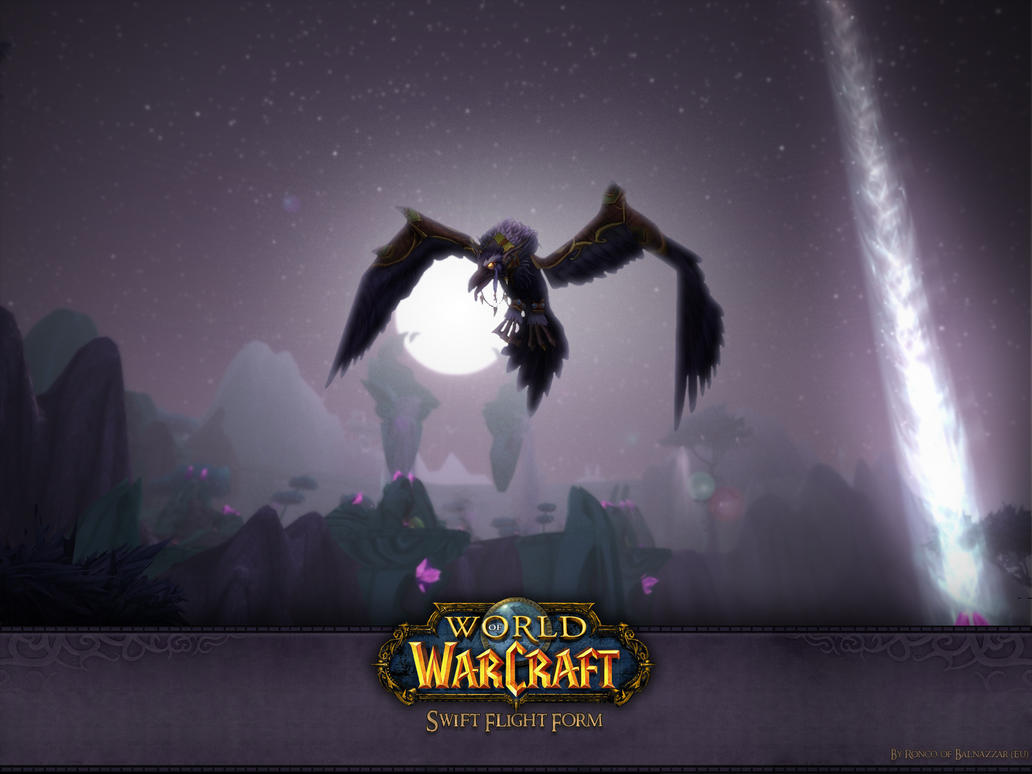 Nightelf Swift Flight Form WP by Triggerman