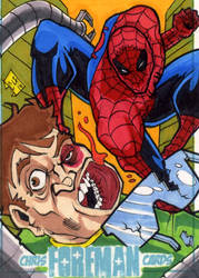 Spiderman vs. Doc Ock PSC by chris-foreman