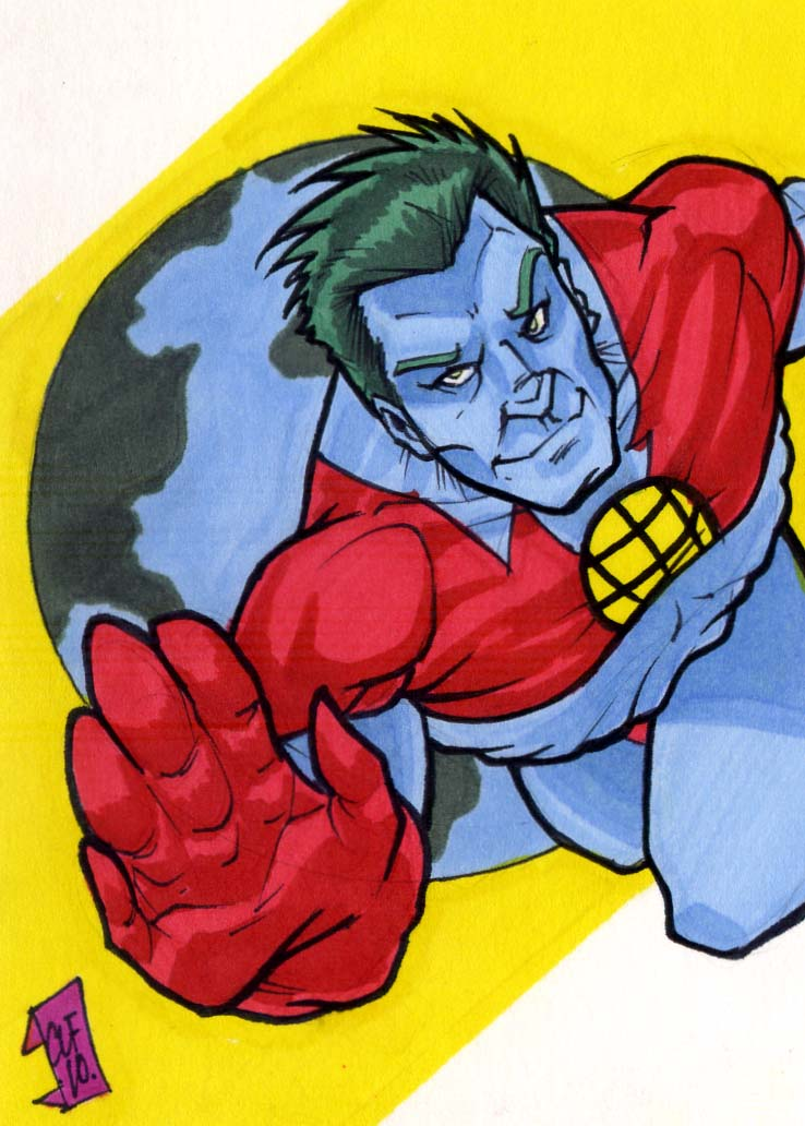 Captain Planet PSC by Foreman by chris-foreman
