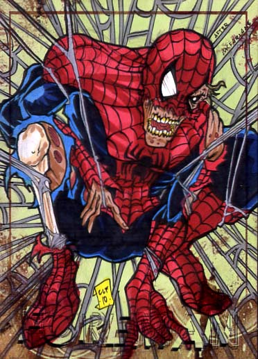 Zombie Spiderman PSC by chris-