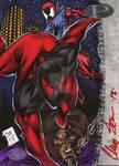 Scarlet Spider Marvel Premier AP by Foreman