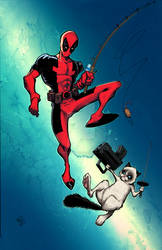 Deadpool VS Grumpy Cat