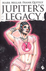Jupiters Legacy Chloe Sketch Cover Chris Foreman