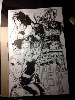 10th Doctor Who David Tennant Print complete