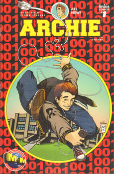 Archie 1 MM Comics Variant Cover by Chris Foreman