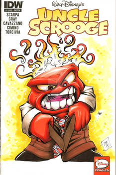 Anger Inside Out Sketch Cover Chris Foreman