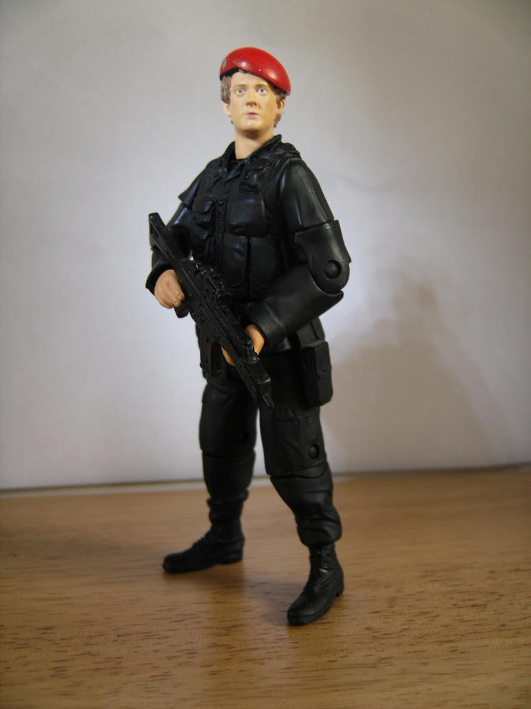 custom doctor who figure unit soldier by alvin171 on