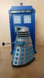 Custom Doctor Who Figure Repainted Dalek by Alvin171