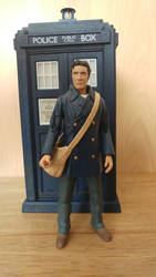 Custom Doctor Who Figure Updated Dark Eyes 8th Dr by Alvin171