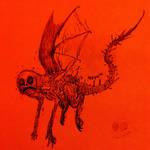 Skooktober Day 14 - Flying Form RED