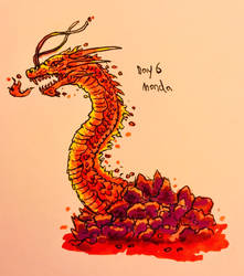 Monster March Day 6 - NES Manda by Apgigan