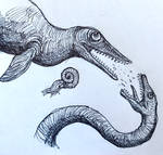 JURASSIC SEA MONSTERS FIGHT FOR SUPREMACY