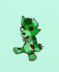 Zombie Plush by dymphnawolf