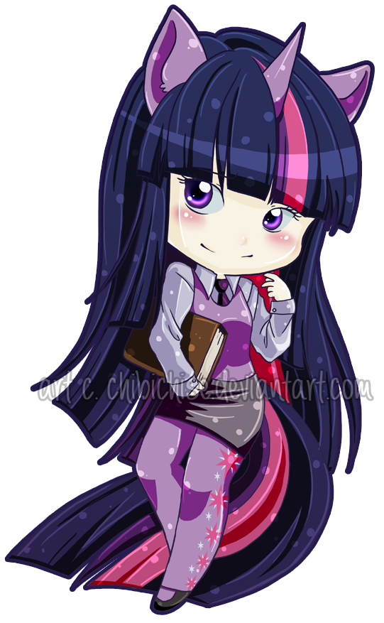 Twilight Sparkle MLP:FIM by ChibiChise