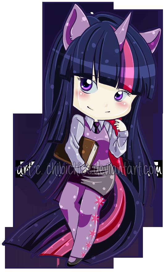 Twilight Sparkle MLP:FIM by ChibiChise
