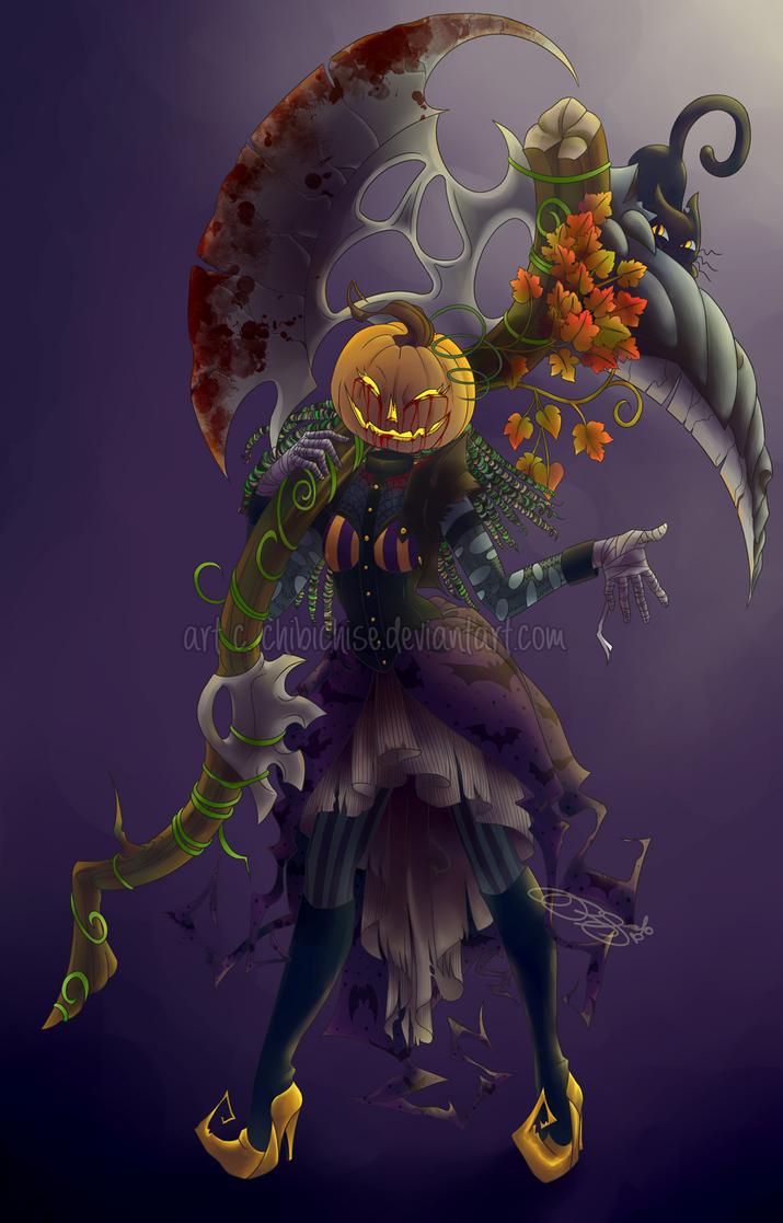 Pumpkin Soldier by ChibiChise