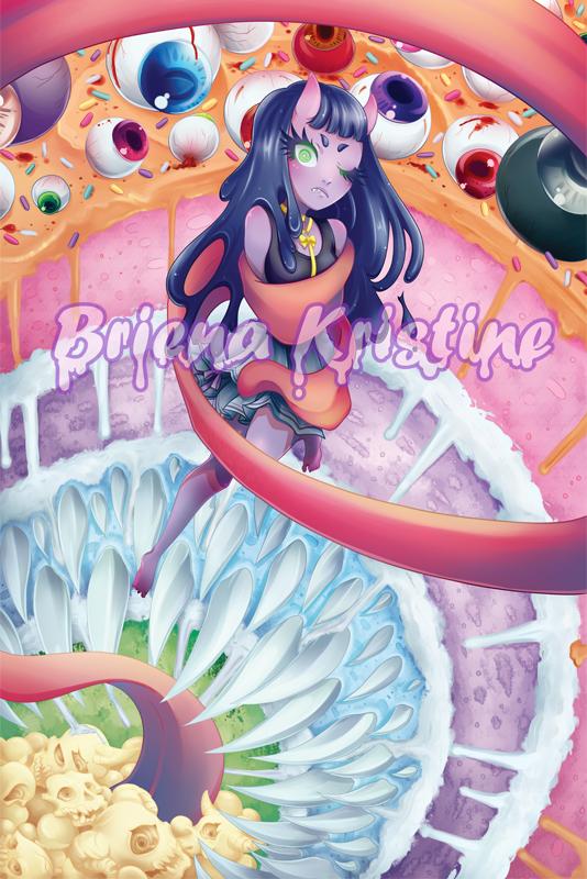 Pinata Cake by ChibiChise