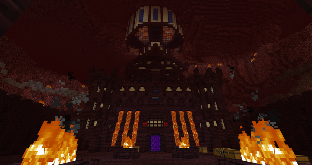 Gallery For gt Minecraft Nether World Fortress