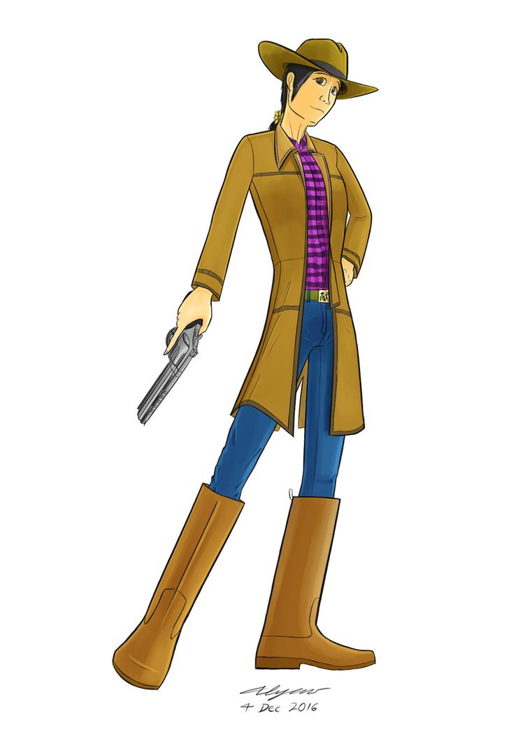 Ying - Gunslinger by Explodering