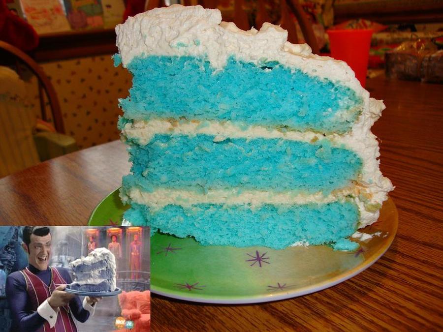 Robbie Rotten Cake Recipe