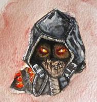 Arkham Knight Scarecrow by kyoyaka