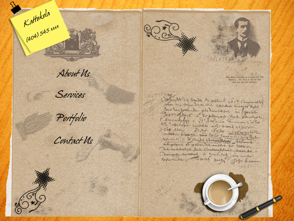 Vintage Grunge Layout by jeevkola