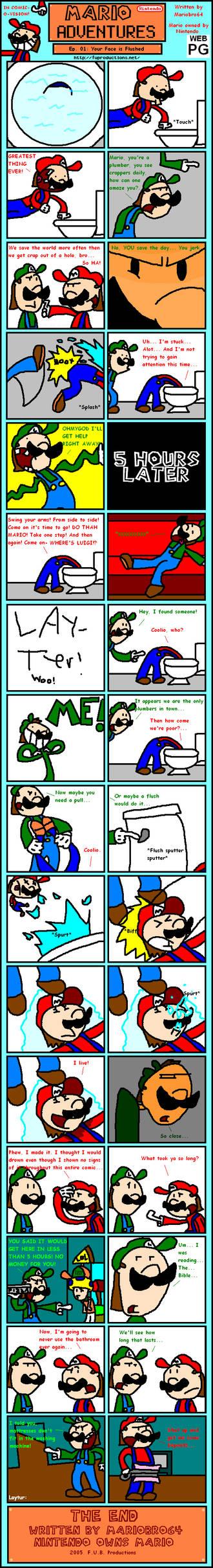 Mario Adventures No. 01