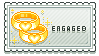 Engaged Stamp by Reresita