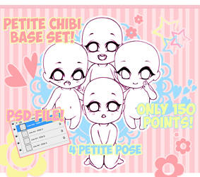 Base #Petite Chibi 4 Set (OPEN)