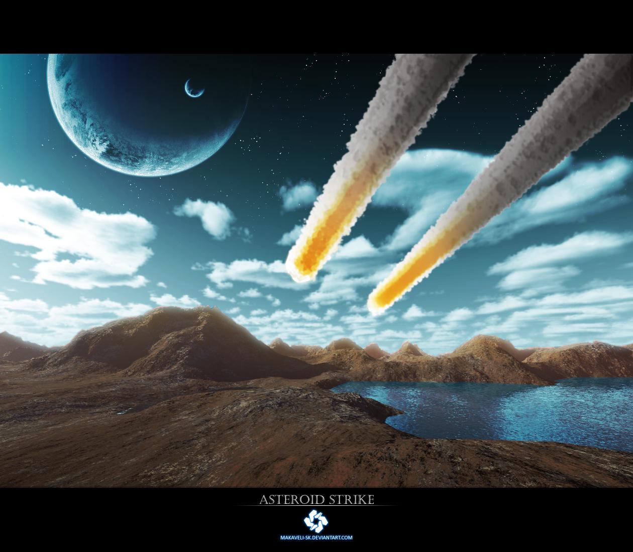 Asteroid Strike by Makaveli-sk