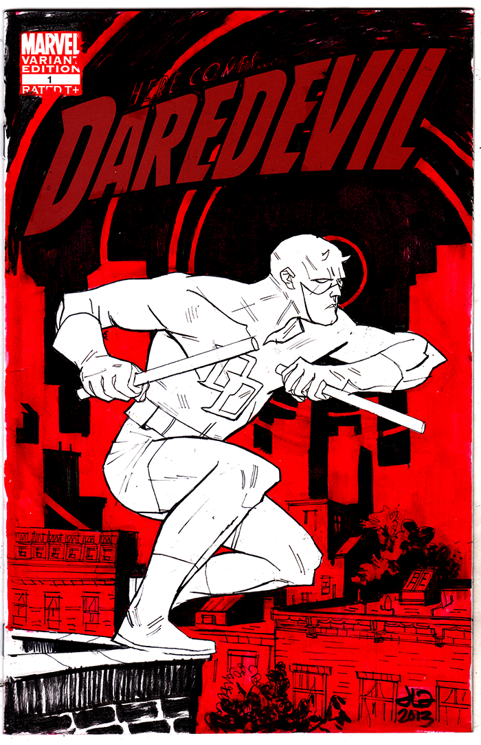 DAREDEVIL NYCC 2013 by JasonLatour