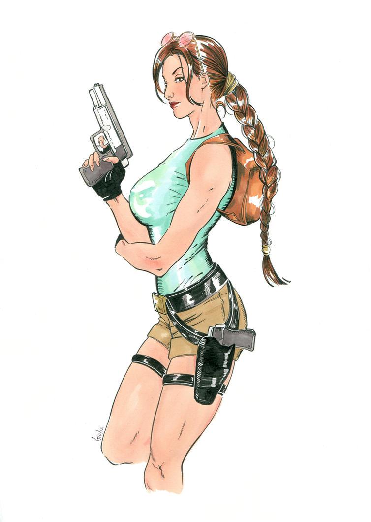 Classic Lara by nijuuhachi