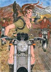 Ehi Lara, watch out! by nijuuhachi