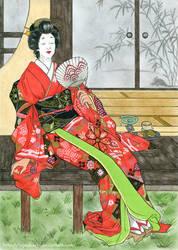Manatsu no hi by nijuuhachi