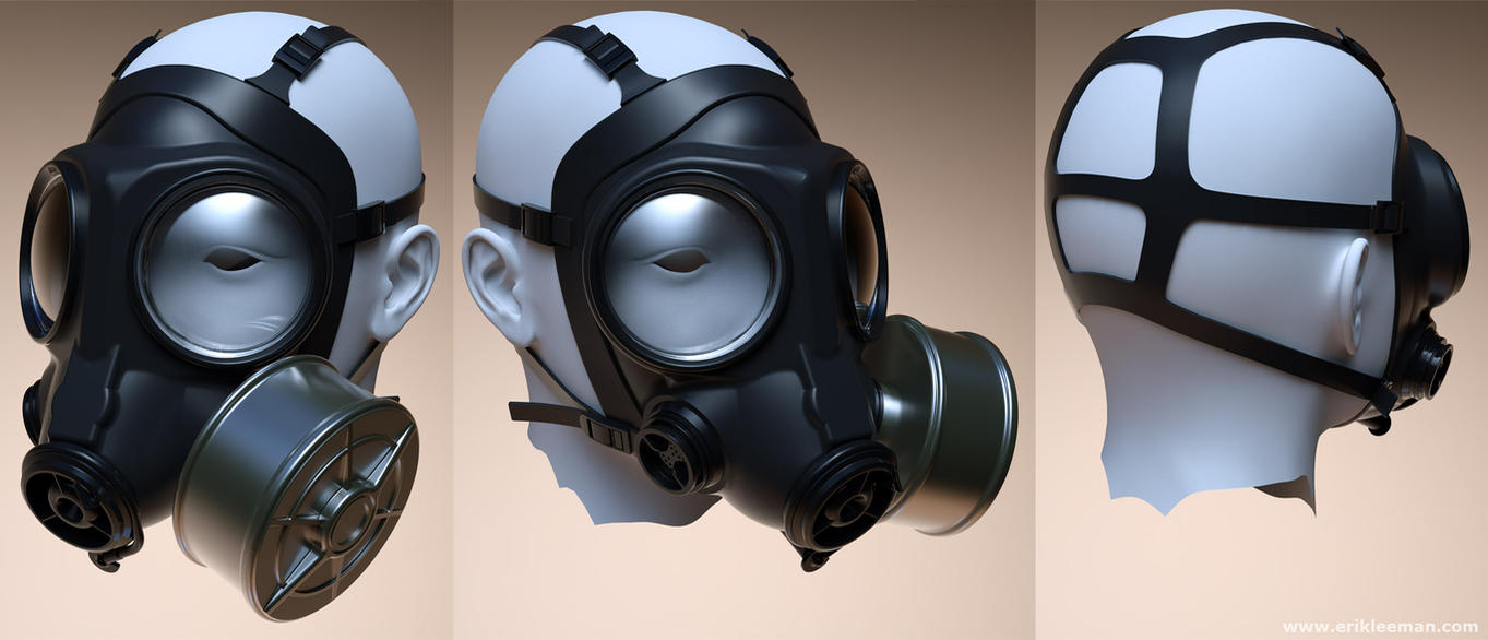 Gas mask Genesis 01 by erik-nl