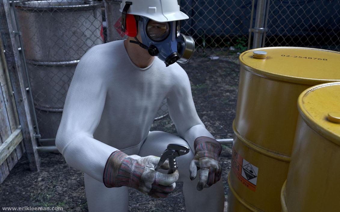 gas mask David5 02 by erik-nl