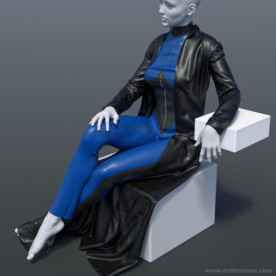 Vic6HD V4 dynamic clothing 02 by erik-nl