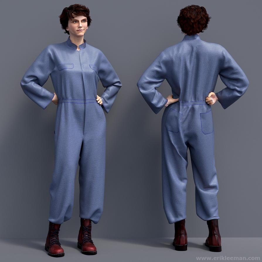 Genesis 2 M4 Dynamic Clothing by erik-nl