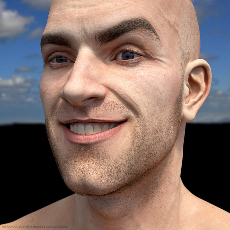v2-2 test M6 disp brows beard diff mod3 by erik-nl