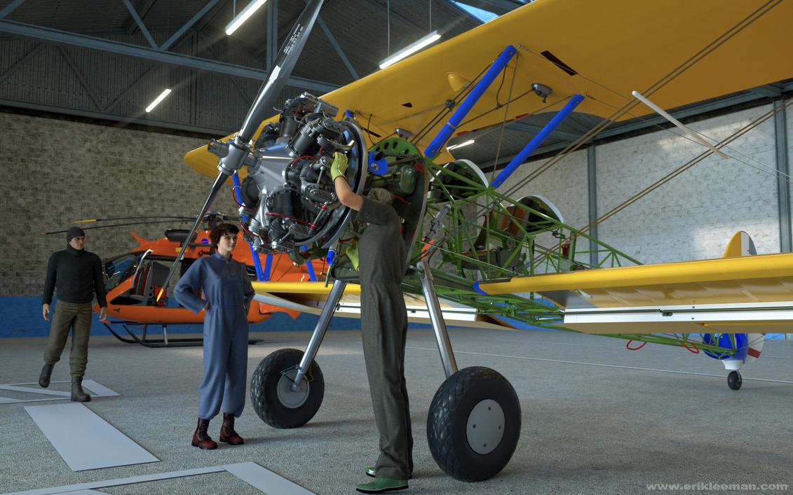 Hangar by erik-nl