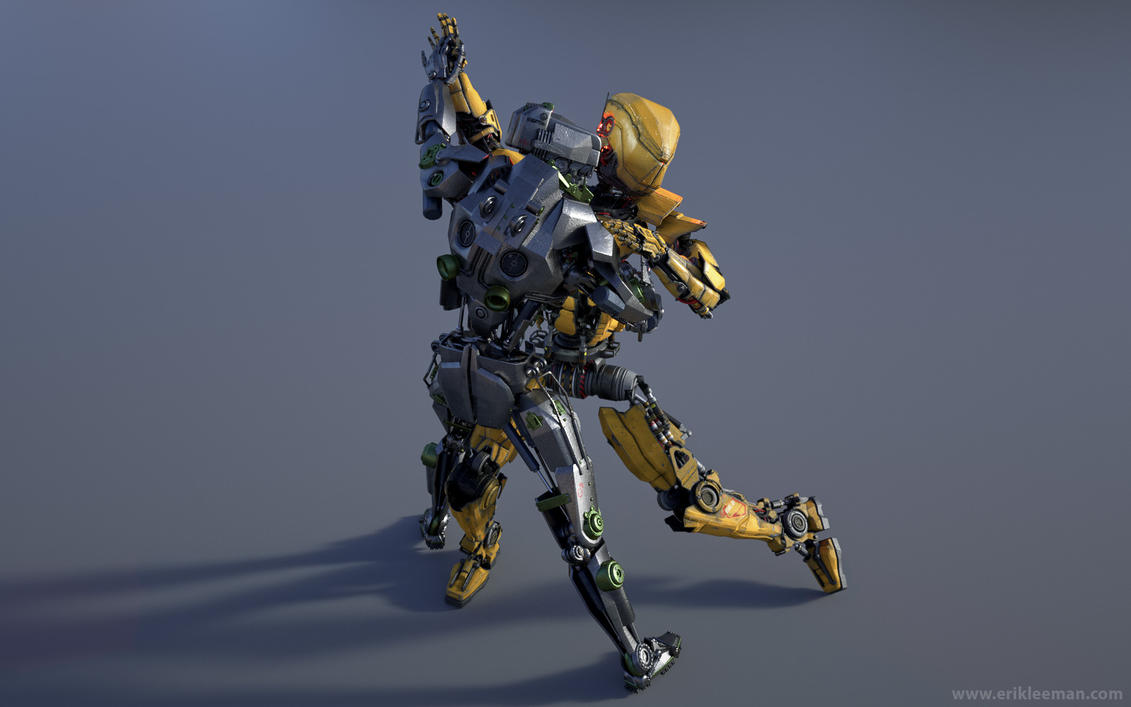 Dancing Robots 01 by erik-nl