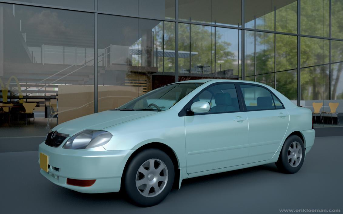 2003 Toyota Corolla Sedan 02 by erik-nl