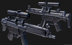 MP5 scoped 01