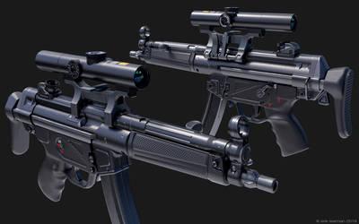 MP5 scoped 01