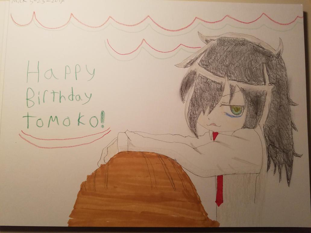 Happy Birthday Tomoko Cake