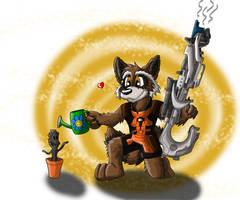 Rocket Raccoon - Green Thumb