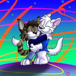 Hugs by Hukley