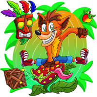 Crash Bandicoot by Hukley