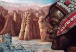 desert portrait by ShamiesArt
